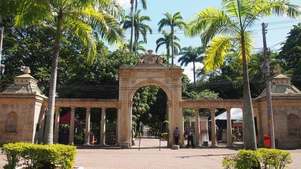 リオデジャネイロ動物園入り口